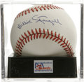 Autographs:Baseballs, Willie Stargell Single Signed Baseball, PSA NM-MT 8. ONL (White)ball offers a terrific sweet spot signature from the man t...