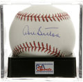 Autographs:Baseballs, Don Sutton Single Signed Baseball, PSA Gem Mint 10. A simplypristine single from this Hall of Fame hurler. Ball has been e...