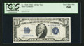 Small Size:Silver Certificates, Fr. 1704* $10 1934C Silver Certificate Star Note. PCGS Very Choice New 64.. ...