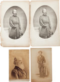 Photography:Cabinet Photos, Four Union General Thomas W. Sweeney Images.... (Total: 4 )