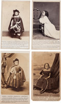 "Photography:CDVs, Four Cartes de Visite Featuring the ""Redeemed Slave Child.""... (Total: 4 )"