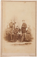 Photography:CDVs, Union General Philip Sheridan and Staff Carte de Visite....