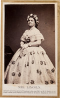 Photography:CDVs, Mary Lincoln Carte de Visite....