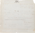 Photography:CDVs, Union General Isaac I. Stevens Autograph Letter Signed....