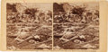 Photography:Stereo Cards, Dead Confederate Sharpshooter at Gettysburg Stereoview....