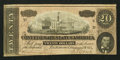 Confederate Notes:1864 Issues, Representing Nothing on God's Earth Now Poem T67 $20 1864.. ...