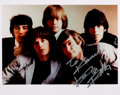 Music Memorabilia:Autographs and Signed Items, Rolling Stones - Keith Richards Signed Color Photograph....