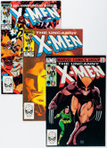 Modern Age (1980-Present):Superhero, X-Men Short Box Group (Marvel, 1983-91) Condition: Average NM-....