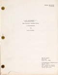 "Movie/TV Memorabilia:Documents, A Script from ""La Bamba!""..."