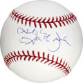 Music Memorabilia:Autographs and Signed Items, Garth Brooks Signed Baseball....