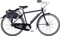 Chanel Limited Edition Black Aluminum & Quilted Leather Bicycle Very Good to Excellent Condition