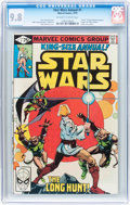 Bronze Age (1970-1979):Science Fiction, Star Wars Annual #1 (Marvel, 1979) CGC NM/MT 9.8 Off-white to white pages....