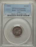 Early Half Dimes, 1800 H10C V-1, LM-1, R.3, -- Bent -- PCGS Genuine. VF Details. NGCCensus: (0/10). PCGS Population (0/1). Mintage: 40,000....