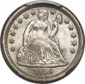 Seated Dimes, 1859 10C MS67 PCGS. CAC. Fortin-107, R.3....