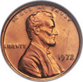 1972 1C Doubled Die Obverse, FS-101, MS67 Red NGC. CAC....(PCGS# 38013)