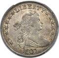 Early Half Dollars, 1807 50C Draped Bust, O-105, R.1, AU53 PCGS....