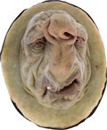 "Movie/TV Memorabilia:Props, A 'Vogon' Large Animatronic Face Mask from ""The Hitchhiker's Guide to the Galaxy.""..."