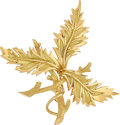 Estate Jewelry:Brooches - Pins, Gold Pendant-Brooch, Schlumberger for Tiffany & Co.. ...