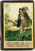 Books:Children's Books, Robert Louis Stevenson. Treasure Island. New York: Harper& Brothers, [1915]. No edition stated. With over one hundr...