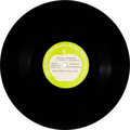 "Music Memorabilia:Recordings, Black Dyke Mills Band -Yellow Submarine 10"" One-sided Apple Acetate(1969)...."