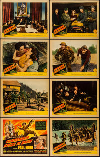 "Commandos Strike at Dawn (Columbia, 1942). Lobby Card Set of 8 (11"" X 14""). War. ... (Total: 8 Items)"