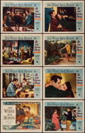 """Movie Posters:Drama, All That Heaven Allows (Universal International, 1955). Lobby CardSet of 8 (11"""" X 14""""). Drama.. ... (Total: 8 Items)"""