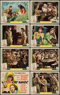 "Movie Posters:War, Cry Havoc (MGM, 1943). Lobby Card Set of 8 (11"" X 14""). War.. ...(Total: 8 Items)"