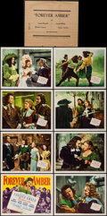 "Movie Posters:Drama, Forever Amber (20th Century Fox, 1947). Lobby Card Set of 8 (11"" X 14""). Drama.. ... (Total: 8 Items)"