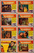 "Movie Posters:Adventure, Ivanhoe (MGM, 1952). Lobby Card Set of 8 (11"" X 14""). Adventure..... (Total: 8 Items)"