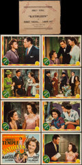 """Movie Posters:Romance, Kathleen (MGM, 1941). Lobby Card Set of 8 (11"""" X 14""""). Romance.. ... (Total: 8 Items)"""