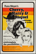 "Movie Posters:Sexploitation, Cherry, Harry & Raquel (Eve Productions, 1970). One Sheet (27"" X 41""). Sexploitation.. ..."