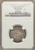1652 SHILNG Pine Tree Shilling, Small Planchet -- Plugged -- NGC Details. Fine. Noe-29, W-930, Salmon 11-F, R.3....(PCGS...