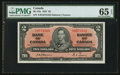 Canadian Currency: , BC-22a $2 1937. ...