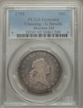 Early Half Dollars, 1795 50C 2 Leaves, O-125, High R.4, -- Cleaning -- PCGS Genuine.Good Details. NGC Census: (1/9). PCGS Population (0/2). ...