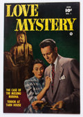 Golden Age (1938-1955):Romance, Love Mystery #1 Crowley Copy pedigree (Fawcett Publications, 1950)Condition: VF....