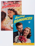 Golden Age (1938-1955):Romance, Exciting Romances #2 and 4 Crowley/Fawcett File Copies Group(Fawcett Publications, 1950) Condition: Average VF+.... (Total: 2Comic Books)