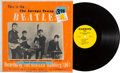 Music Memorabilia:Recordings, The Savage Young Beatles Rare LP (Savage BM-69, 1965)....