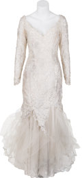 "Movie/TV Memorabilia:Costumes, A Cameron Diaz Wedding Dress from ""Feeling Minnesota.""..."