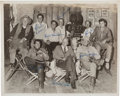 "Movie/TV Memorabilia:Autographs and Signed Items, A John Wayne, Dean Martin, Ricky Nelson and Others Signed Black and White Photograph from ""Rio Bravo.""..."
