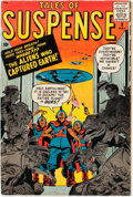 Silver Age (1956-1969):Science Fiction, Tales of Suspense #3 (Marvel, 1959) Condition: FN-....