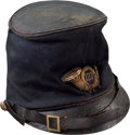 Military & Patriotic:Civil War, Union Model 1858 McDowell Infantry Officer's Forage Cap With Original Insignia of the 127th Infantry Regiment...