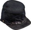 Military & Patriotic:Civil War, Bullet Struck Commercially Produced Union Forage Cap...