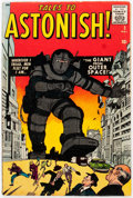 Silver Age (1956-1969):Mystery, Tales to Astonish #3 (Marvel, 1959) Condition: VG+....