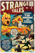 Silver Age (1956-1969):Horror, Strange Tales #76 (Marvel, 1960) Condition: FN....