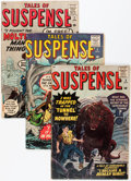 Golden Age (1938-1955):Science Fiction, Tales of Suspense #5-7 and 30 Group (Marvel, 1959-62).... (Total: 4Comic Books)