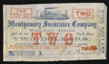 Obsoletes By State:Alabama, Montgomery, AL - Montgomery Insurance Company $2 Apr. 7, 1862 Rosene 242-3. ...
