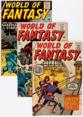Silver Age (1956-1969):Horror, World of Fantasy Group (Atlas, 1956-59).... (Total: 7 Comic Books)
