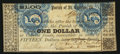 Obsoletes By State:Louisiana, (Hahnville), LA - Parish of St. Charles $1 Apr. 7, 1862 . ...