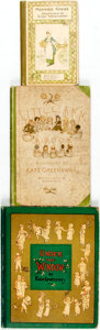 Books:Children's Books, [Kate Greenaway, illustrator]. Group of Three Children's BooksIllustrated by Kate Greenaway. Various publishers and dates, ...(Total: 3 Items)