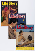 Golden Age (1938-1955):Romance, Life Story Crowley/File Copy Group (Fawcett Publications, 1950-53)Condition: Average VF+.... (Total: 7 Comic Books)